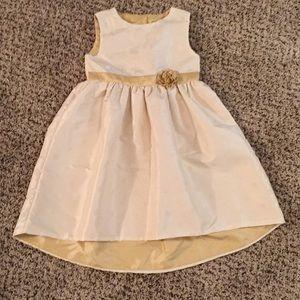 Penelope Mack Polka Dot Cream Lined Dress